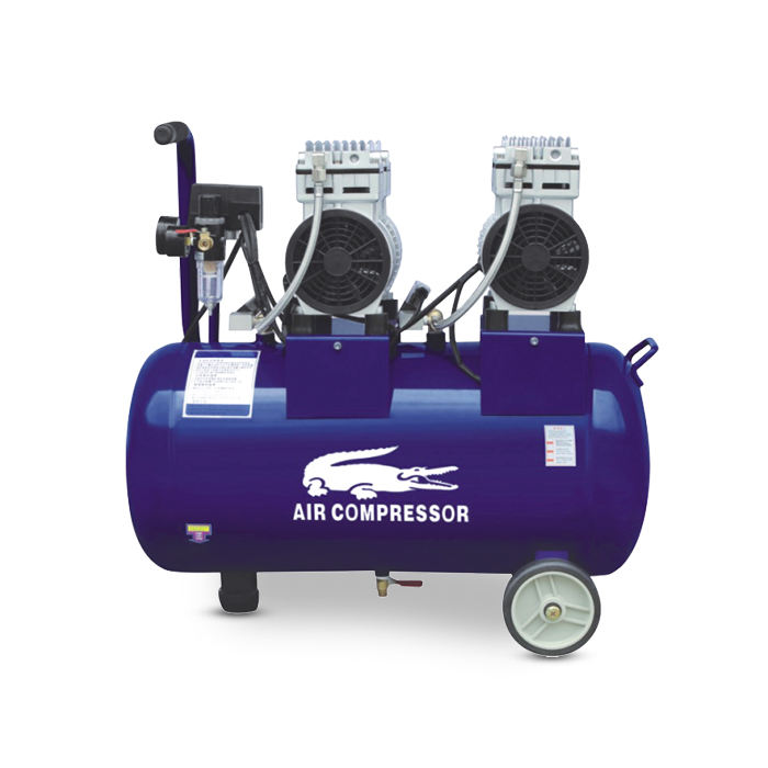 1.5hp 50l oil free piston silence air compressor
