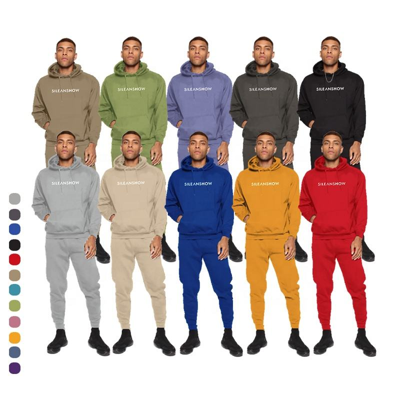 Sports Wear Pullover Cotton &Polyester French Terry Hoodie Custom Hoodies Men