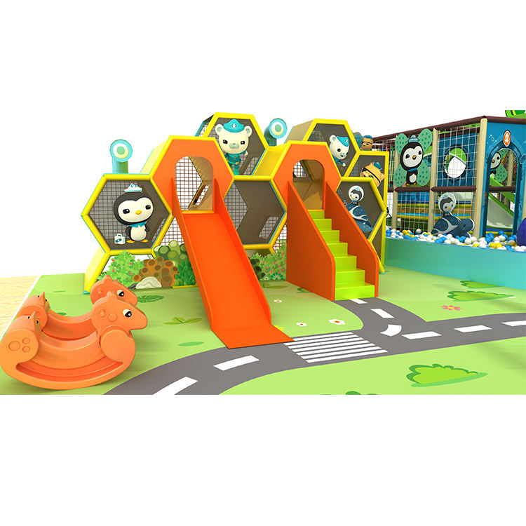 Daycare Center Kids Equipment Aire De Jeux Couverte Exciting And Interesting Big Commercial Ocean Playground Indoor Zip Line
