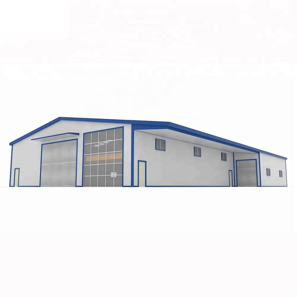 Easy assembly mild prefabricated steel structure