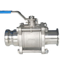 "Manufacturers 1/4""-4"" Inch Stainless steel Card Sets of Ball Valve"