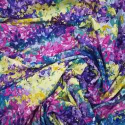Cotton poplin printed cloth