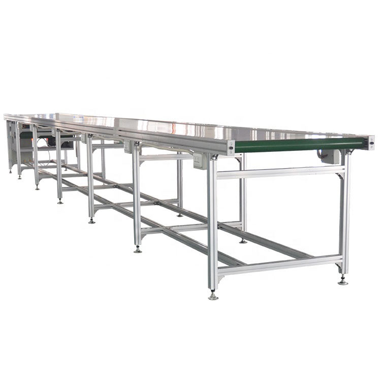 6m*0.4m*0.75m Direct order mini flexible belt conveyor belt machine system supplier