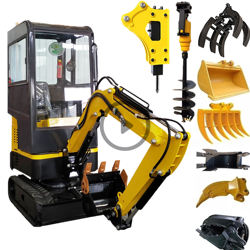 Free shipping!!! 1000kg hydraulic mini excavator with competitive prices