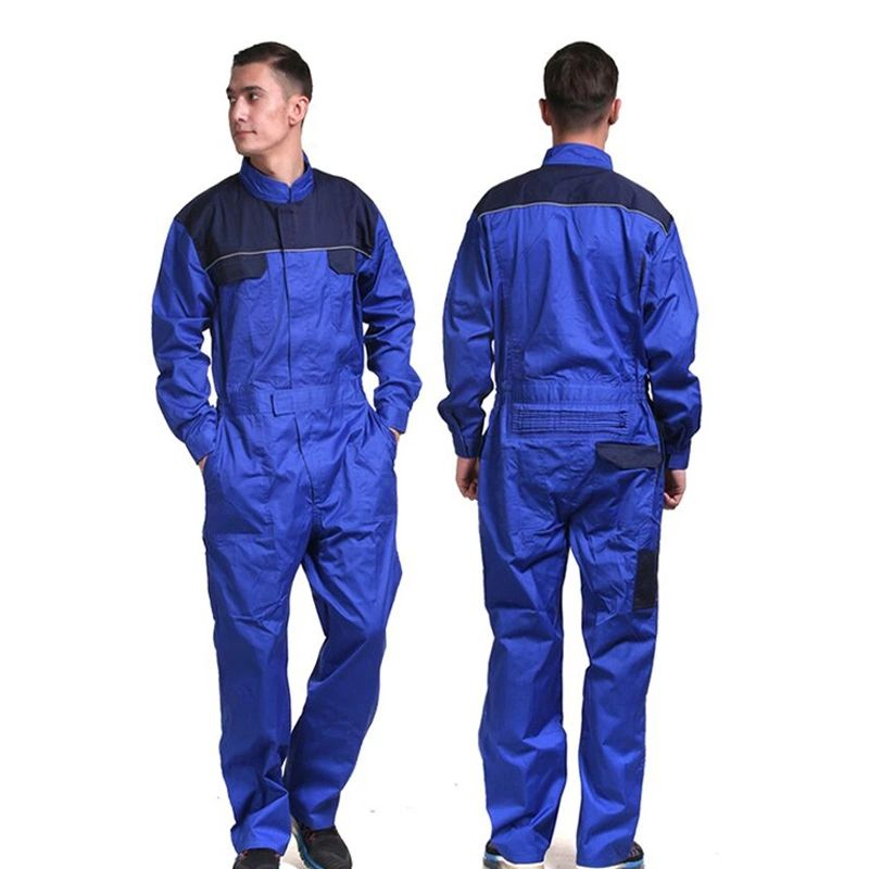 Workers Suit Safety Overall Men Fabric Fire Resistant Workwear Coveralls