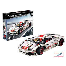 2020 NEW CaDA C61018W Technology Model 610 Super Car Assemble Building Blocks Toys Gifts