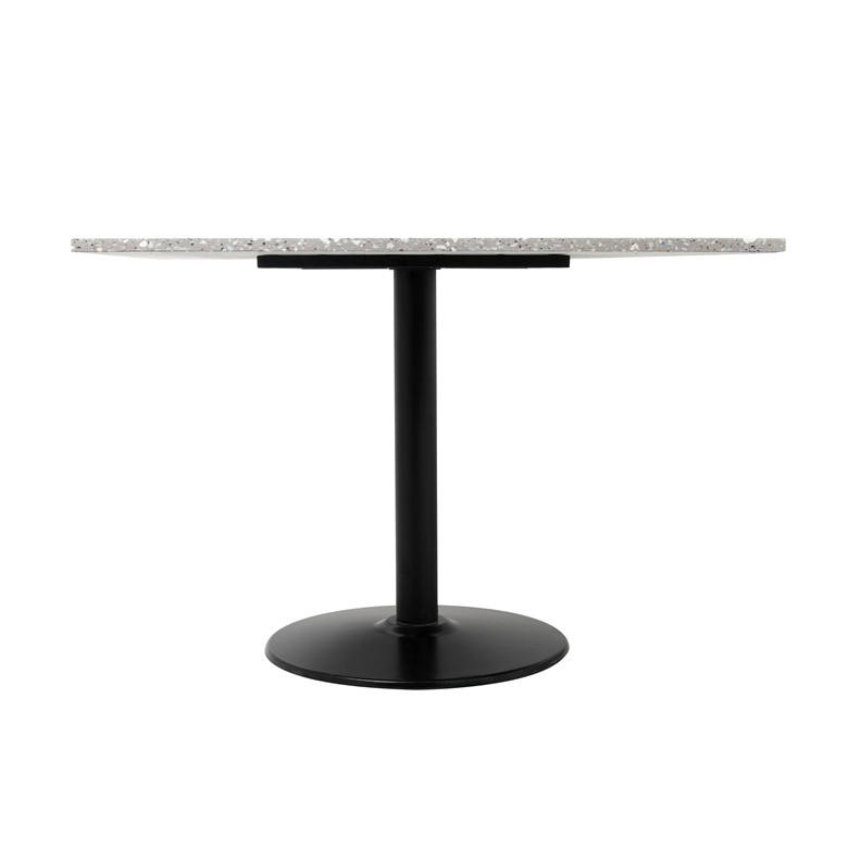 DT050-A Saugus Square Terrazzo Furniture Dining Table Square Terrazzo top Cast Iron frame customized available