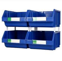 Heavy duty warehouse plastic spare parts storage bins