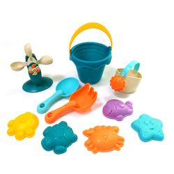 Funny ABS water bottle sand mode beach toy set baby water toys for kids