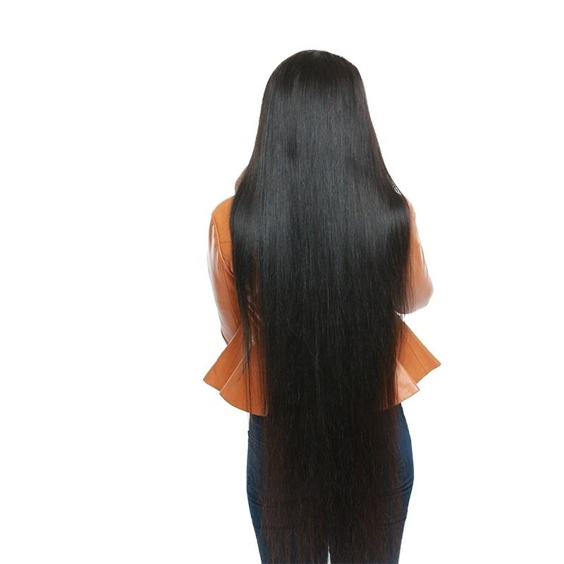 Wholesale Cheap Brazilian Human Hair Full Lace Wigs,Brazilian Virgin Raw Hair Long 26 - 40 Inch Original Straight Front Lace Wig