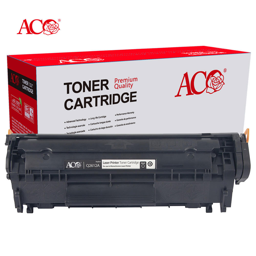 ACO Factory Wholesale Laser Toner 05A 05X 12A 17A 26A 30A 35A 36A 59A 78A 83A 85A 88A Premium Compatible Toner Cartridge For HP