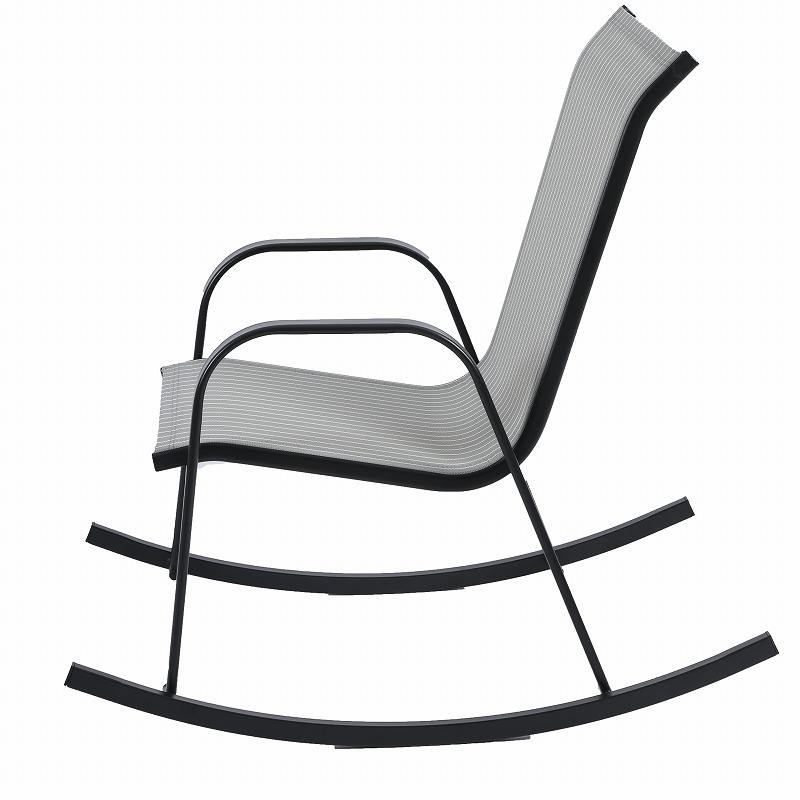 Modern metal rocking leisure sof lounge chair chaise