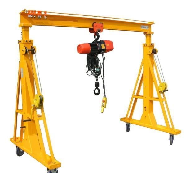new design 5 10 ton mh type single girder gantry crane