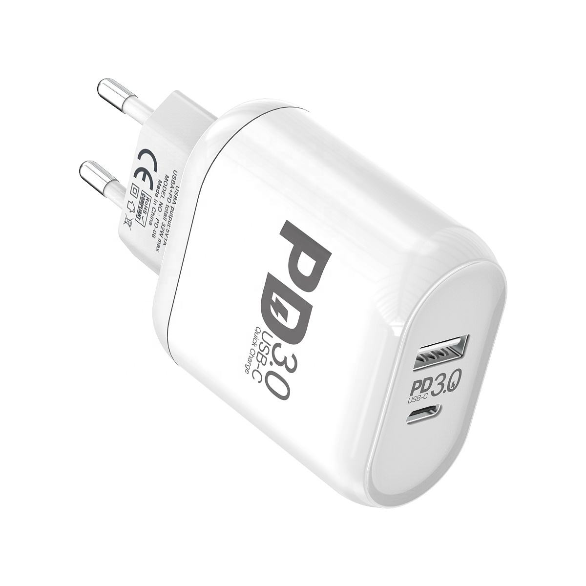 High-End USB C Lader MOXOM 32W Wall Charger PD 3.0 Type C Snel Opladen Power Levering Adapter voor iPhone MacBook Ipad