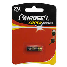 Hot selling OEM Pairdeer Zinc manganese size  27A 12v alkaline dry battery