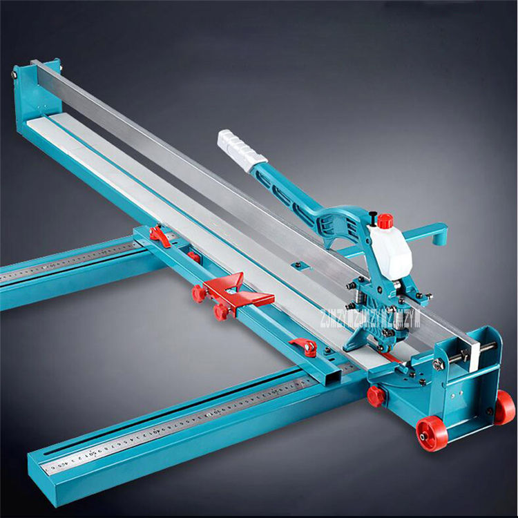 High Precision Laser Infrared Manual Tile Cutting Machine Tiles Push Knife Floor Wall Tile Cutter 800mm/1000mm/1200mm 6-15mm
