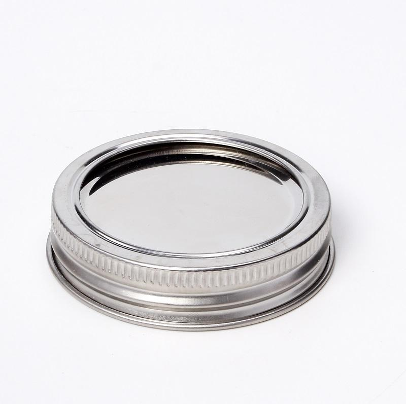 70 mm Regular mouth Two Pieces Gold Mason Jar Canning Metal Lids