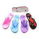 Best price China factory nude beach slipper cheap jelly fashionable women flip flops