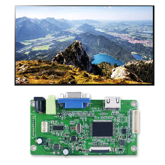 LM315WR1-SSB1 Avondmaal Dunne 32Inch 4K Desktop Monitor Lcd Display 3840*2160 Resolutie Edp Interface Vga Naar edp Board