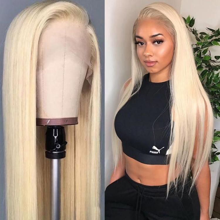 613 Full Lace Wig Human Hair,Brazilian 613 Blonde Full Lace Human Hair Wig,40 Inch 613 Virgin Hair Human Hair Full Lace Wig