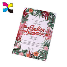 Wholesale DIY style custom professionally printed greeting invitation card