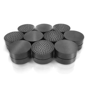 Pot feet for outdoor plant and flower pots, solid rubber pot risers