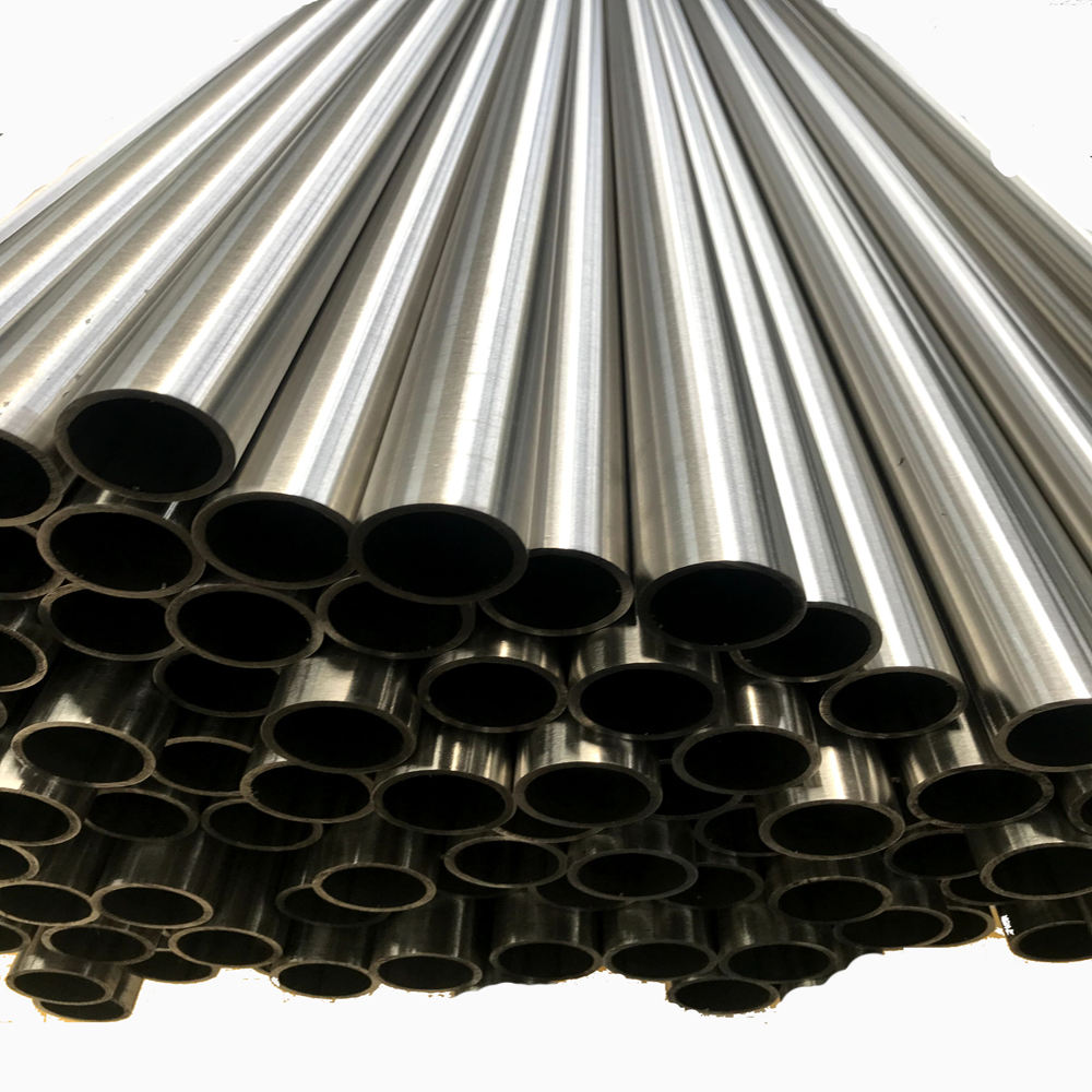 acier inoxydable ss stainless steel round tube pipe 304 welded tubing 316L pipe prices per meter satin mirror