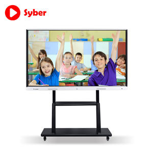 65 Inch Multi Touch All In One Schoolbord Interactieve Lcd Touch Screen Monitor Interactieve Flat Panel Voor Klaslokaal