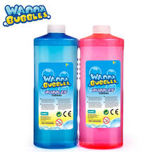Wanna Bubble 32Oz / 1000ML PET Bubble Refill 1 Liter Soap Bubbles Solution Refill