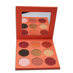 9 color china suppliers makeup eyeshadow palette 3d private label eye shadow