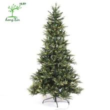 Wholesale High Quality  7ft Artificial   LED Light  Christmas Decoration Tree For Holiday Celebration