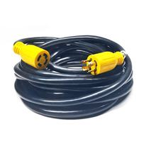rv 30 amp heavy duty generator extension cord with l14-30p 10 gauge SJTW 20ft