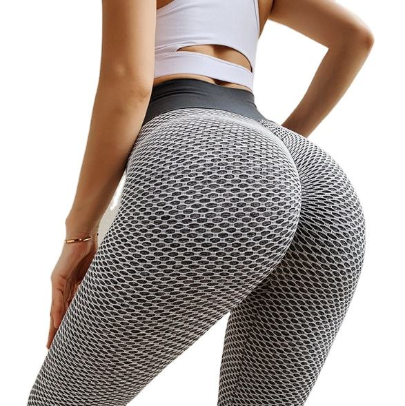 Brazilian Women Sports Scrunch Bums Much Stretchy Yoga Pants Fitness Training Clothing High Quality Textured Seamless Leggings