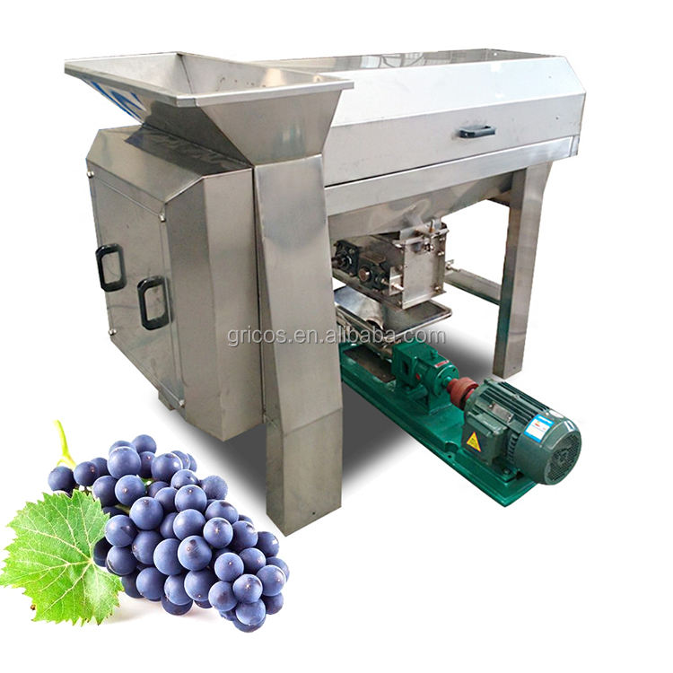 Rvs Druif Persmachine/Druif Stem Snijden En Juicer Machine