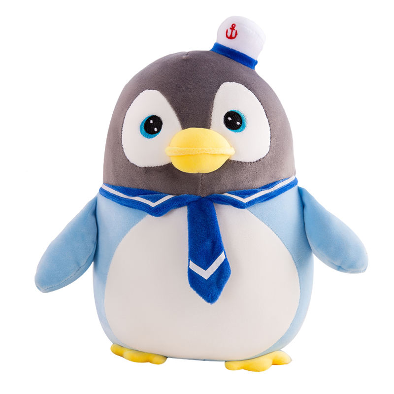 customized small creative pillow personalised cute club names plush online giant uk stuffed penguin soft toy