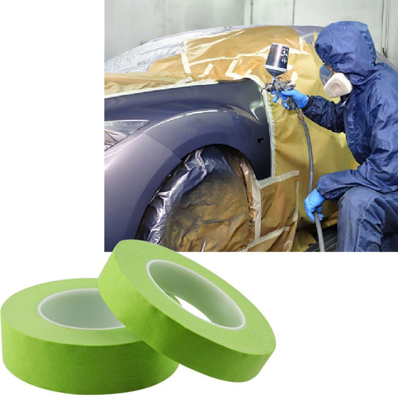 โรงงานRefinishเทปMasking Auto Paint Removal Auto Body Paint