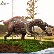 Other Amusement Park Products Dinosaur Robot with Movements and Sound Park Equipment