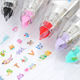 AAGU Lace Press Type Stationery Tape Decorative Pen Correction Tape Diary Scrapbooking Album Stationery Portable Correction Tape