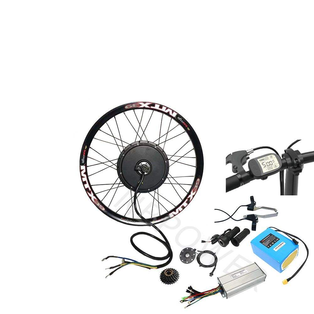 CE Approved 52v 2000w ebike kit with 52v 20Ah Lithium Battery