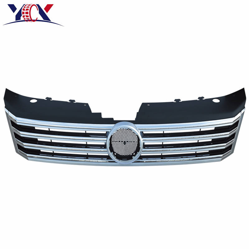 Auto intake grille (MIT CHROME FRAME) für <span class=keywords><strong>vw</strong></span> <span class=keywords><strong>passat</strong></span> B7 2012 Auto teile kühlergrill (MIT CHROME FRAME) OEM 3AD 853 653