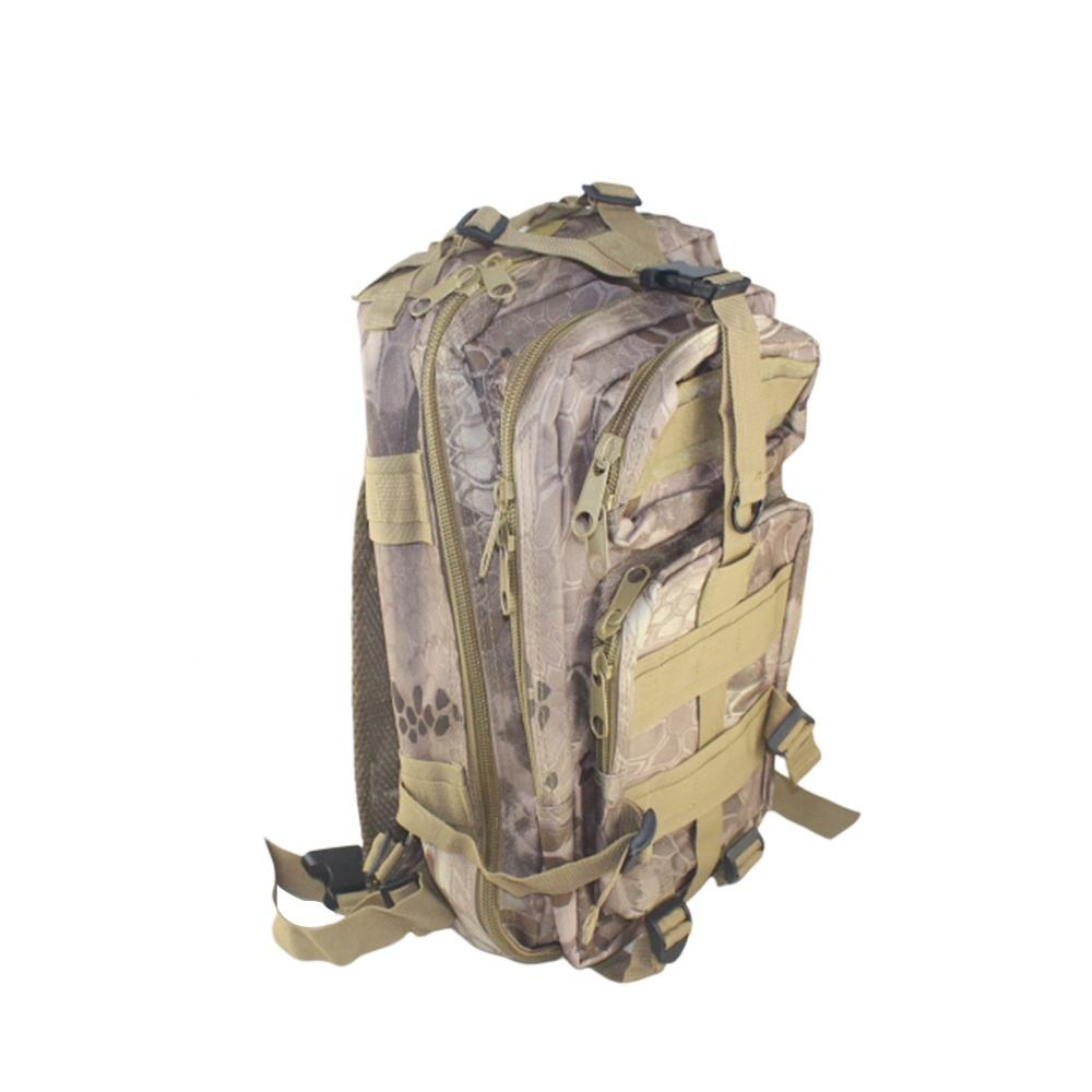 Camouflage Army Camping Bags Outdoor Waterproof backpack 3P Military Tactical Backpack