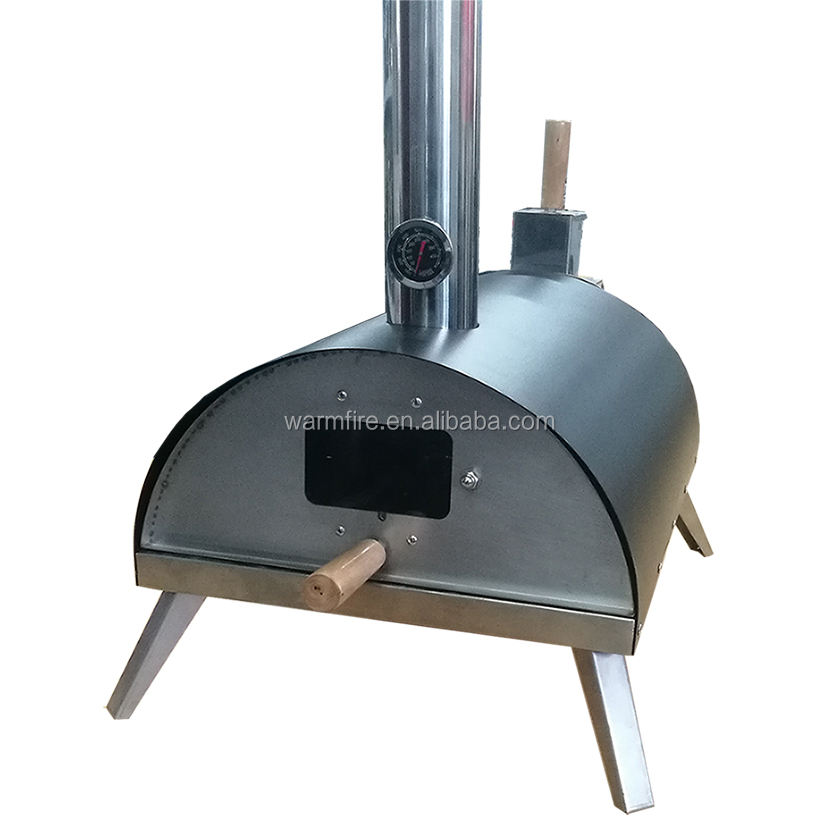 Portable mini pellet charcoal grills pizza oven,outdoor wood fired pizza ovens