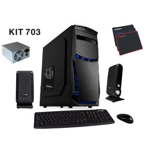 Sate (kit 703) small order 5 in 1 combo atx case 4in1 kit 2020 new factory price computer five in one combo low moq