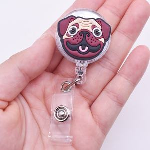 Wholesale Custom Cartoon Retractable ID Badges Reel Holder
