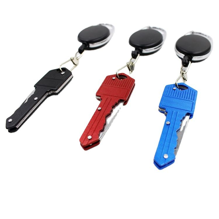 Hot Sales Personal Security Products Keychain Mini Camping Key Knife Folding Key Pepper Spray For Knife Self Defense Products