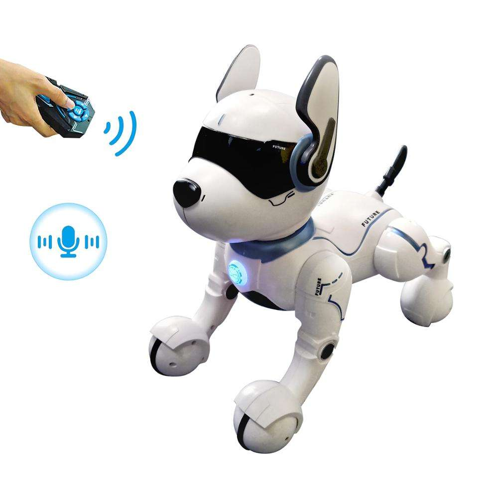 Intelligent child toy robot Voice Control Robot Singing and Dancing Dog/Cat Toy electronic robot dog toy