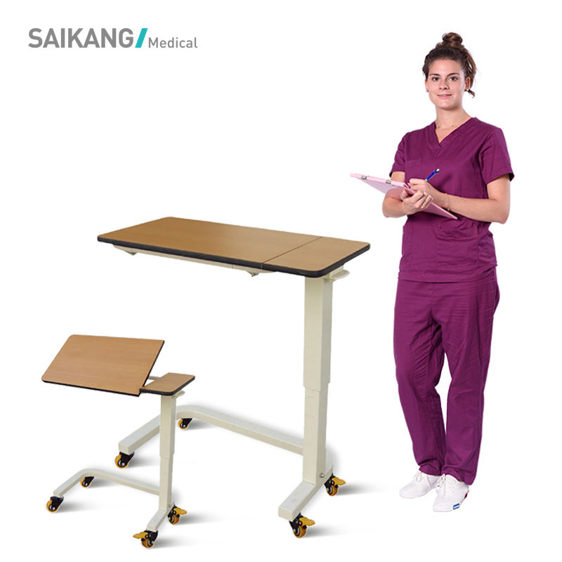 SKH201-4 Hospital Overbed Dining Table