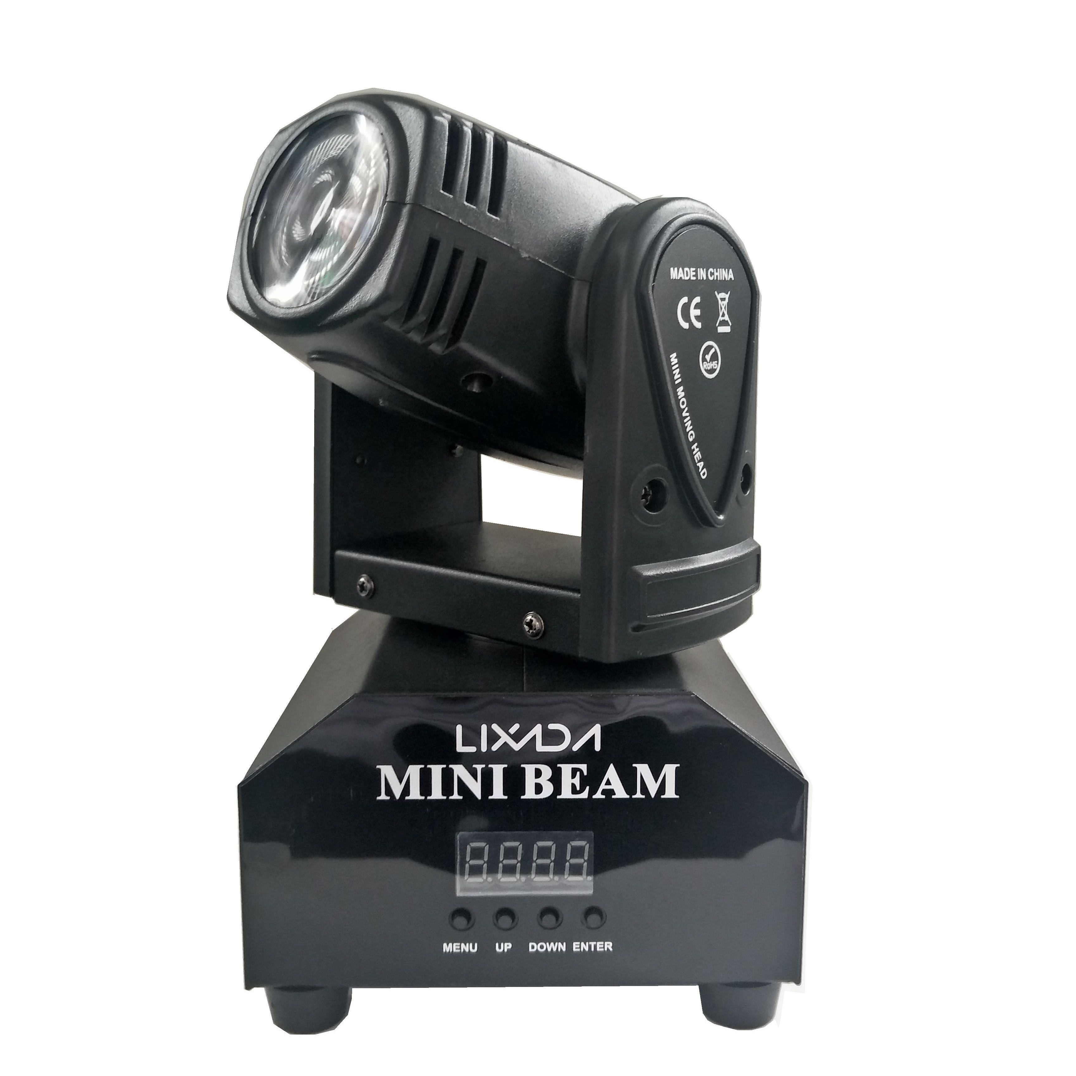 Mini beam rgbw led klein moving head licht beam moving head stage light
