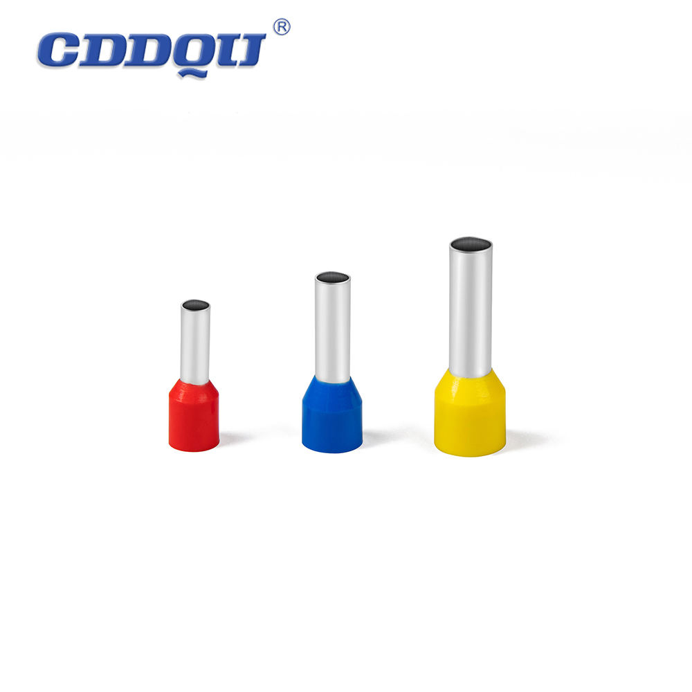 E1508 Nylon Insulated Cord End Terminal ,Factory supply Wire Crimp Terminal Connector
