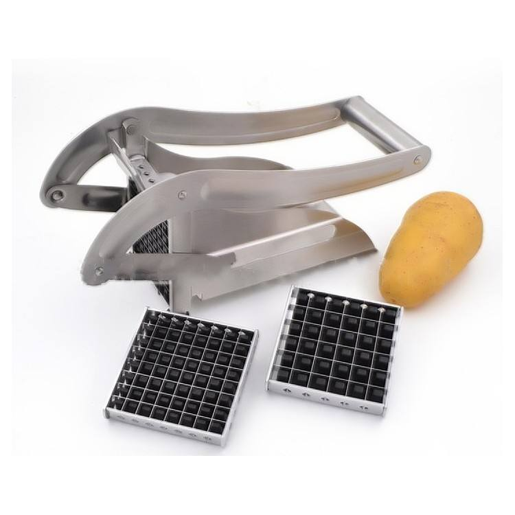 New design small home use manual french fries cutter potato cutting machine